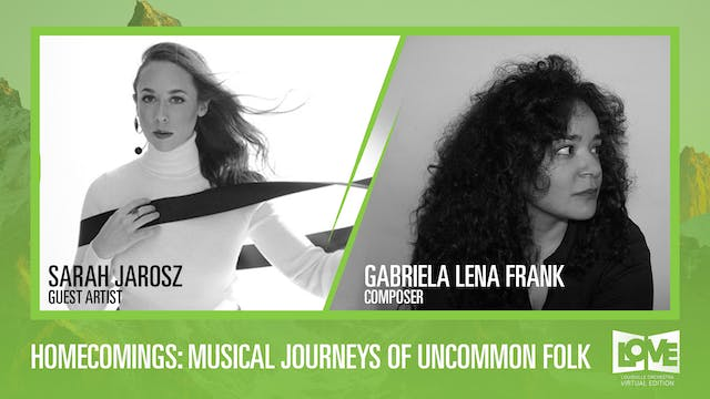03.06.21. Live Stream : Homecomings: Musical Journeys of Uncommon Folk