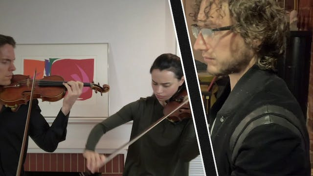 Ensemble Video :: Selection from 5 Pieces for Duo violins by Dmitri Shostakovich