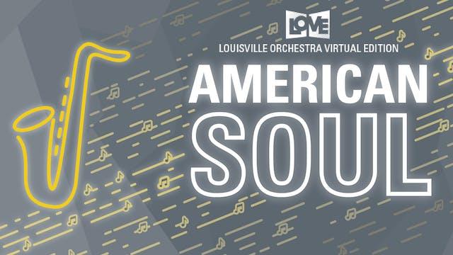 Live 11.21.20 : American Soul