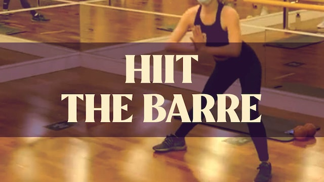 HIIT The Barre with Manon - LIVE December 16, 2020