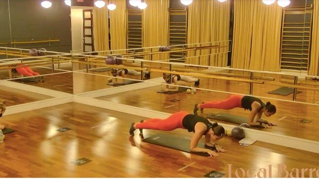 Open Barre Quickie with Kyla at 8:00AM