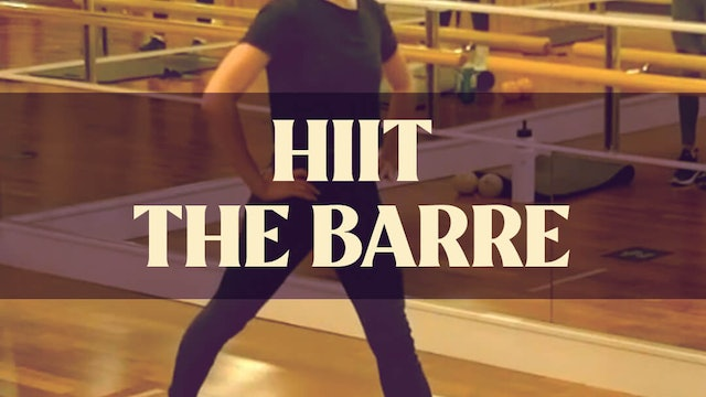 HIIT The Barre with Manon - LIVE May 5, 2021