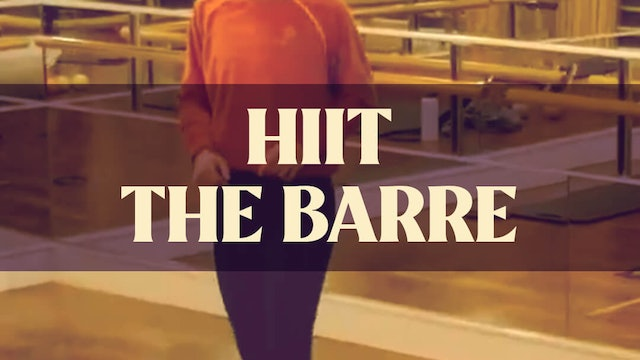 HIIT The Barre with Manon - LIVE April 28, 2021