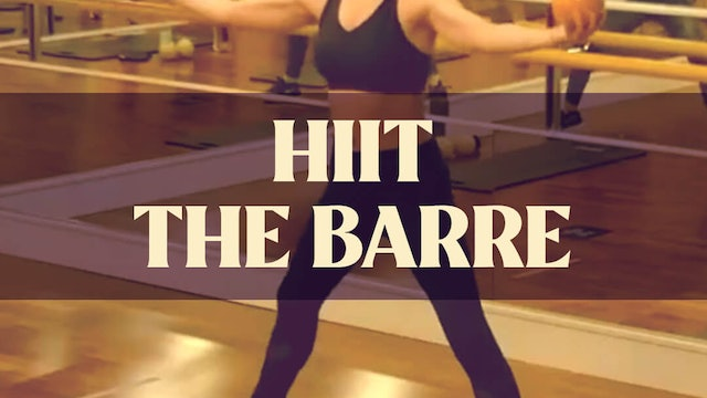 HIIT The Barre with Manon - LIVE February 24, 2021