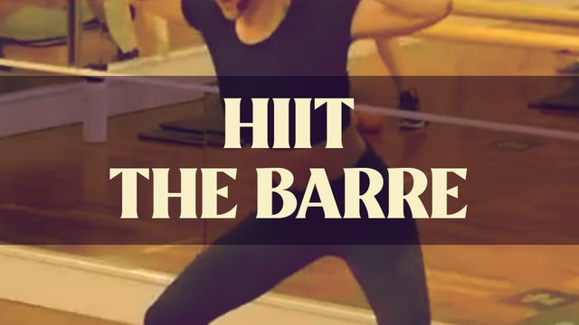 HIIT The Barre with Manon - LIVE June 9, 2021