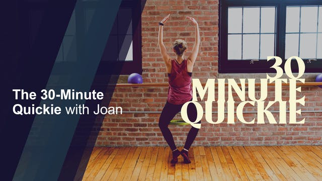 30-minute Quickie with Joan