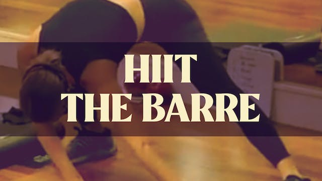 HIIT The Barre with Manon - LIVE June...