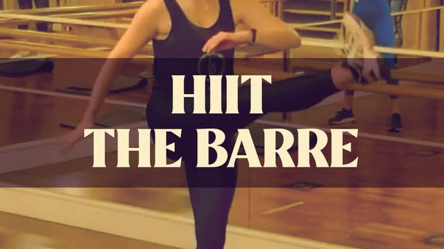 HIIT The Barre with Kyla - LIVE March...