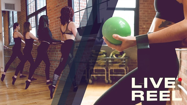 HIIT The Barre with Manon- LIVE July 28, 2021
