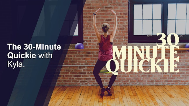 30-minute Quickie with Kyla