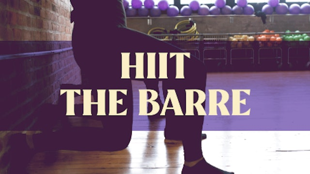 HIIT The Barre with Manon - LIVE January 27, 2021