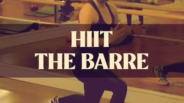 HIIT The Barre with Kyla - March 20, 2021