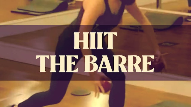 HIIT The Barre with Manon - LIVE March 24, 2021