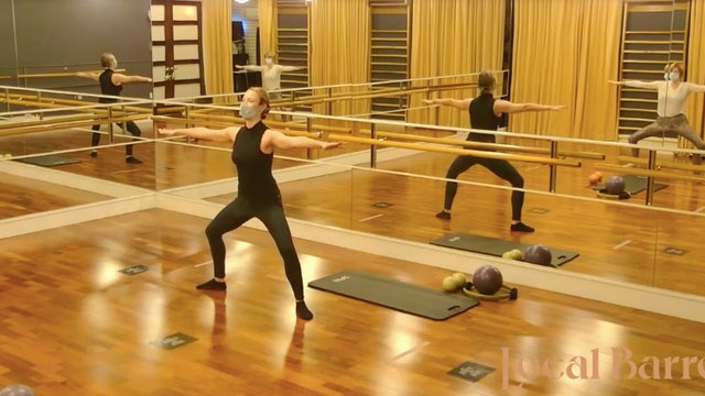 Open Barre Quickie with Manon - LIVE on December 27, 2020