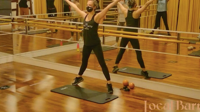 HIIT the BARRE with Manon - LIVE January 13