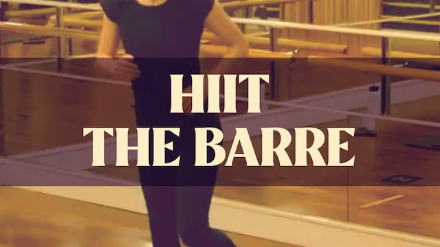 HIIT The Barre with Manon - LIVE March 31st, 2021