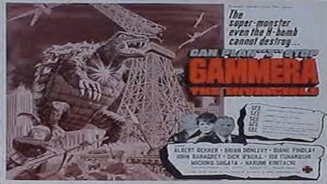 Gamera the Invincable