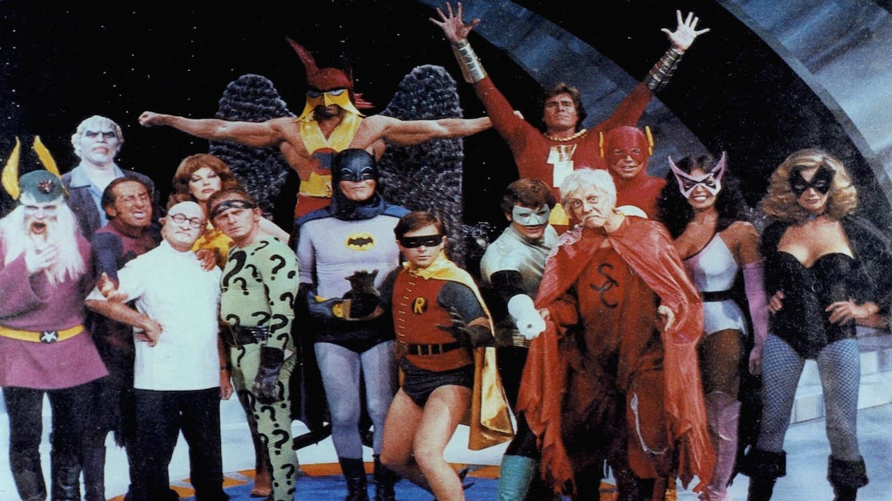 Legends of the Super Heros