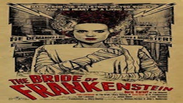 BRIDE OF FRANKENSTIEN