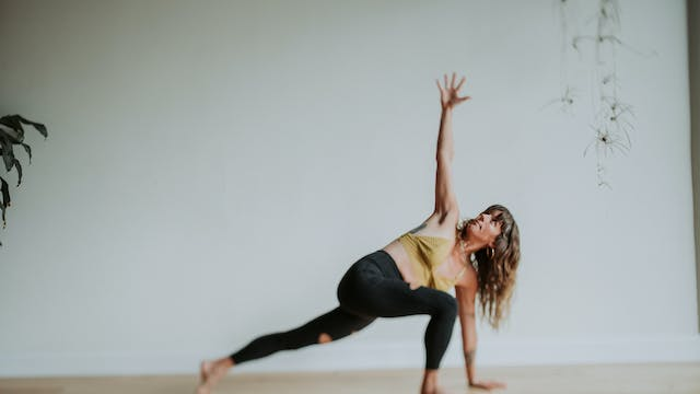 A Nourishing Hip Opening Practice | A...