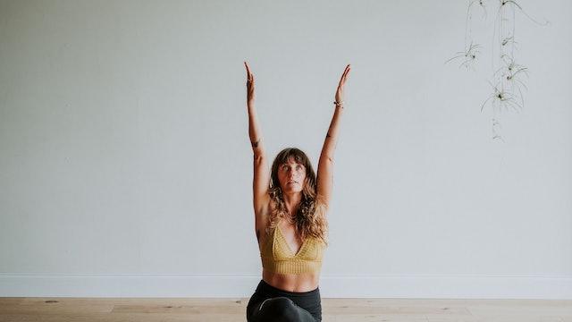 Pranayama, Asana, Meditation Mini-Flow with Audra