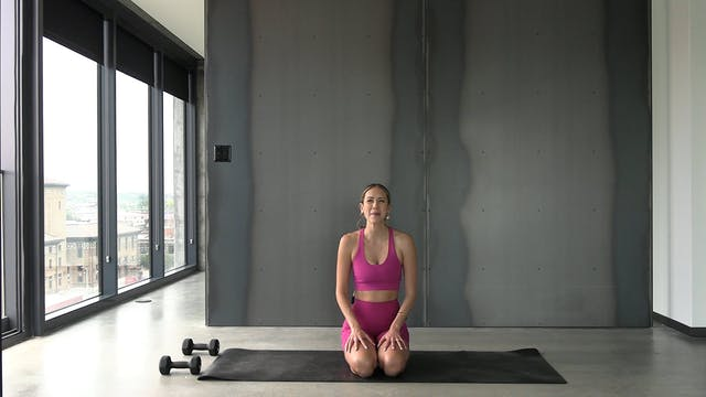 Yoga + Weights + Cardio Mashup