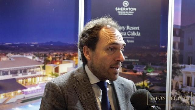 Entrevista a Jaime Hevia sobre Sheraton Hacienda del Álamo Golf & Spa Resort
