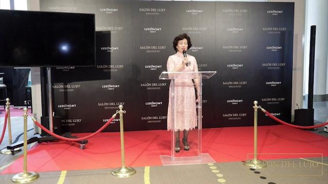 Intervención de Margaret Chen, Presidenta de Honor China Club, en Salón del Lujo