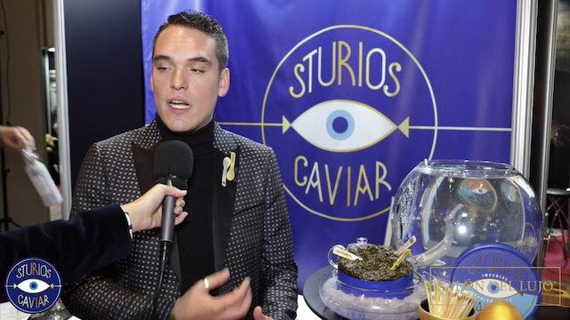 Entrevista a Diego Benítez (Sturios Caviar) en Salón del Lujo 2019 en Madrid