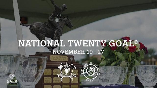 National Twenty Goal Semifinal - Sebucan (0-0) vs Aspen Valley (1-0)