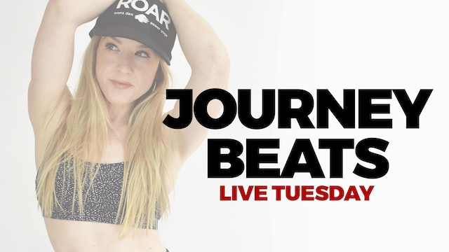 2.23 - RECORDED LIVE 8:30 AM ET - 30 MIN JOURNEY BEATS WITH MARYALLISON