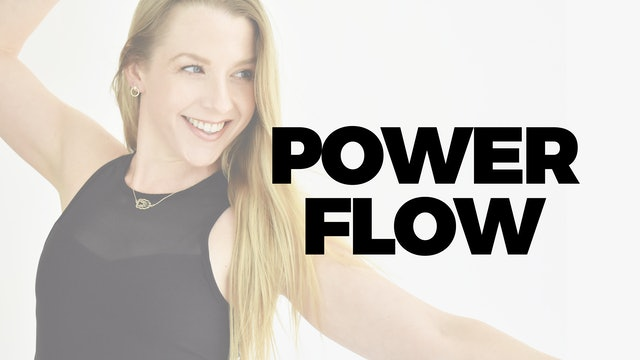 2.19 - RECORDED LIVE 12 PM ET - 45 MIN POWER FLOW WITH MARYALLISON
