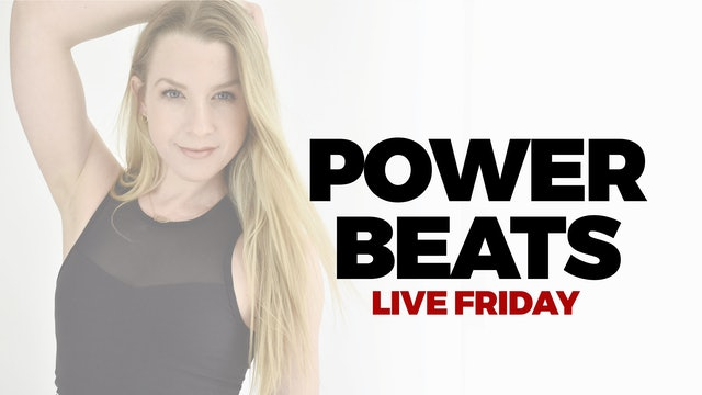 45 MIN POWER BEATS WITH MARYALLISON - RECORDED LIVE - 7.30.21