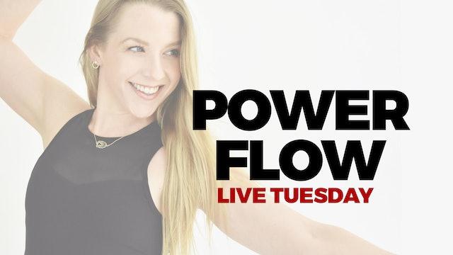 AUGUST 3 - LIVE 5 PM ET - 60 MIN POWER FLOW