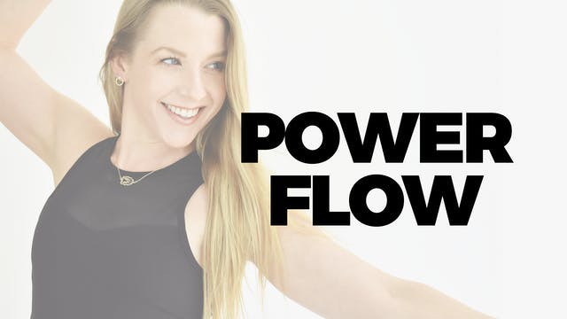 60 MIN POWER FLOW WITH MARYALLISON