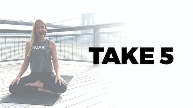 TAKE 5 WITH SETH