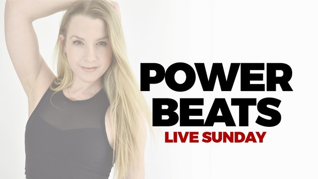 SEPTEMBER 19 - LIVE 4 PM ET - 60 MIN POWER BEATS WITH MARYALLISON