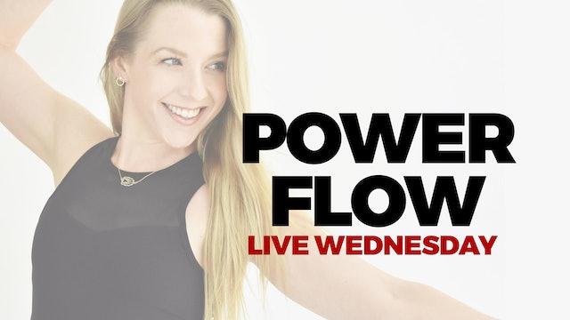 11.25 DROP IN LIVE 9:45 AM ET - 60 MIN POWER FLOW