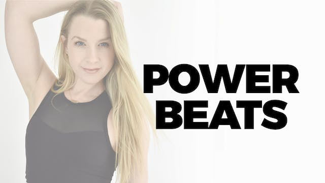 60 MIN POWER BEATS WITH BETHANY - MADONNA