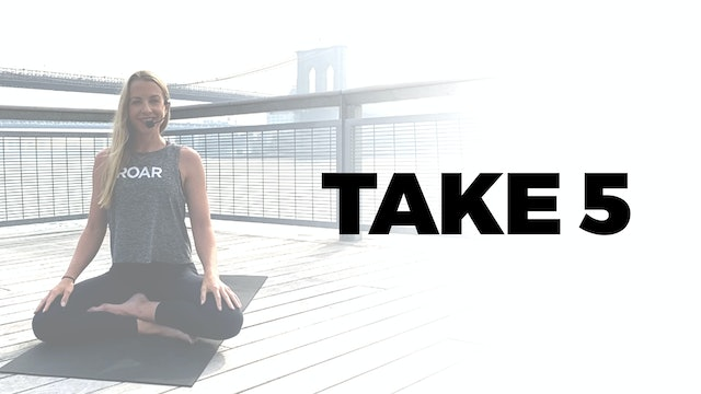 TAKE 5 WITH BETHANY