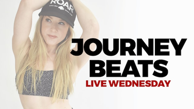 2.24 - RECORDED LIVE 5:00  PM ET - 60 MIN JOURNEY BEATS WITH BETHANY