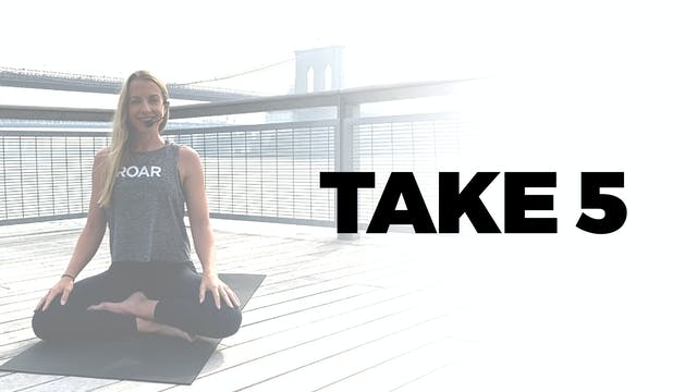TAKE 5 WITH PAIGE