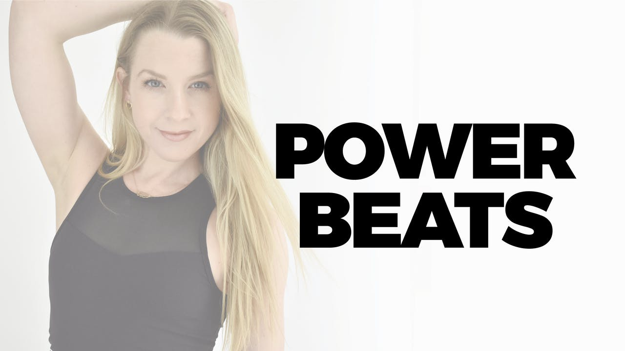 25 MIN POWER BEATS WITH BETHANY
