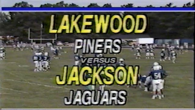 Jackson Memorial vs. Lakewood Football