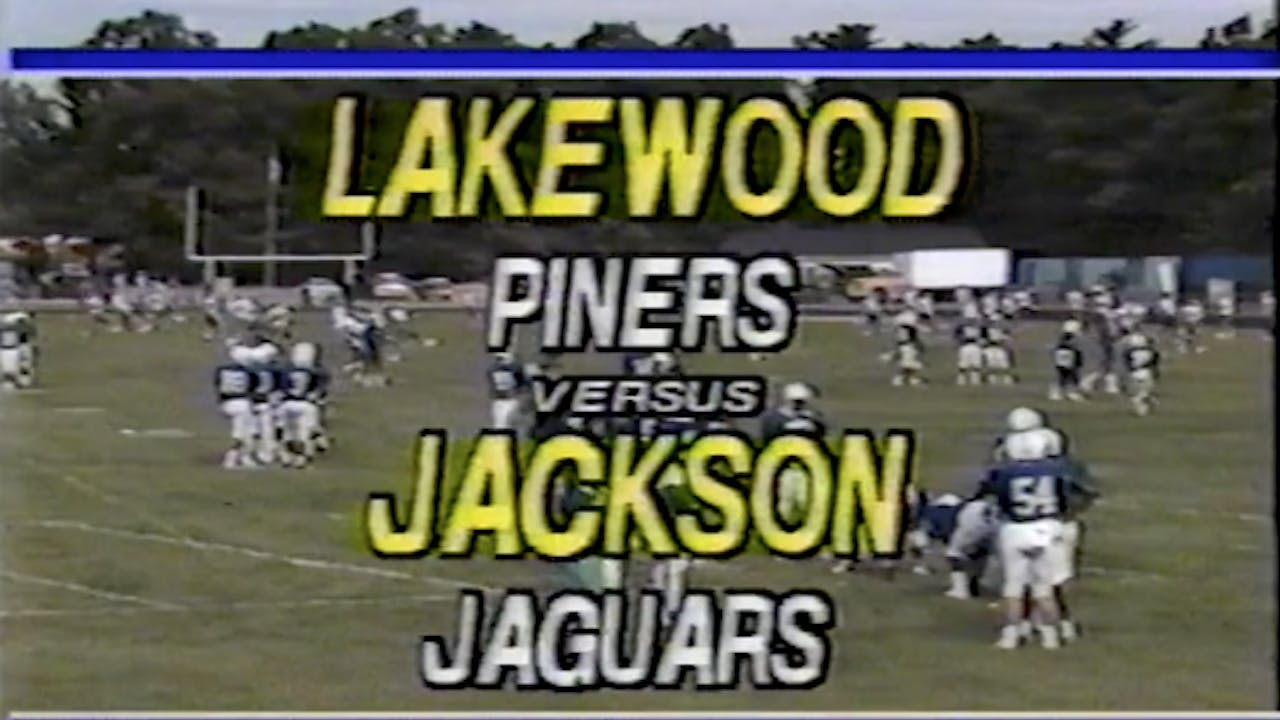 Jackson Memorial vs. Lakewood Football