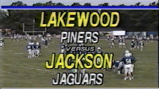 Jackson Memorial vs. Lakewood Football 1988 Season