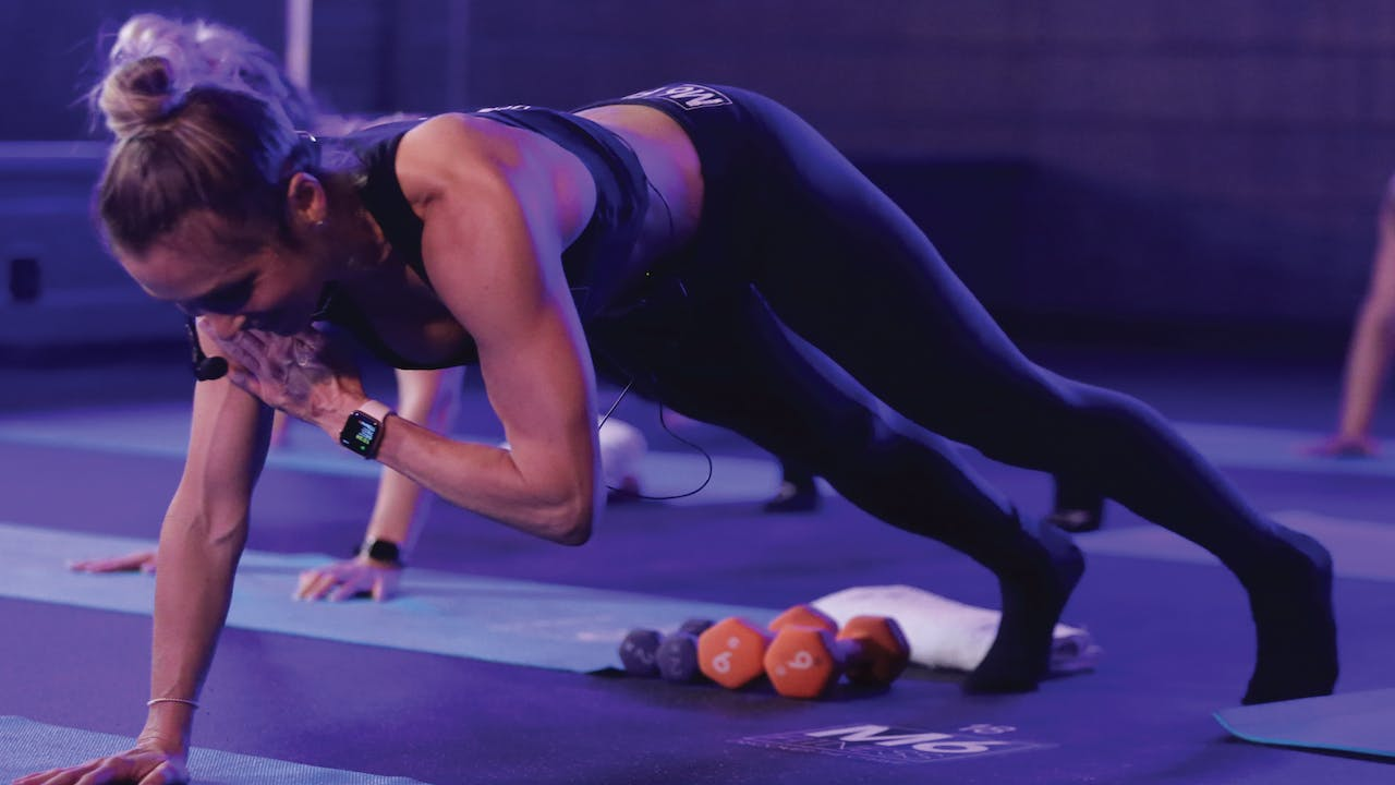 MAT LEAN ARMS AND TIGHT CORE WITH MICHELLE