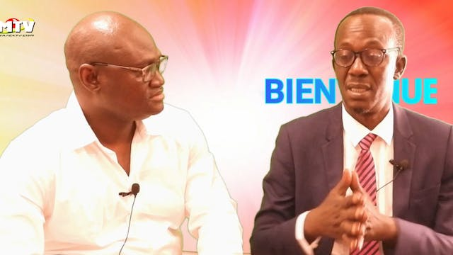 Babacar Mbaye Diop face à Pape Cheikh Fall, Langue Wolof