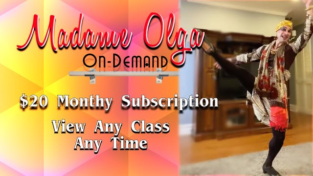 Madame Olga Unlimited $20 a Month and EXTRAS!