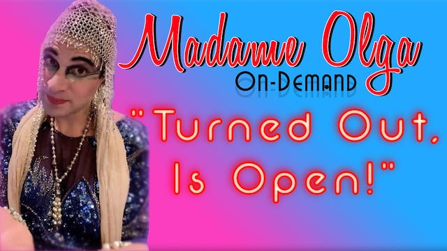 """Madame Olga """"Turn out is open!"""" NEW C..."""